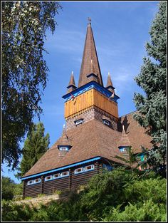 Wooden Church (Deszka templom) - Miskolc, Borsod-Abauj-Zemplen, in Eastern hungary