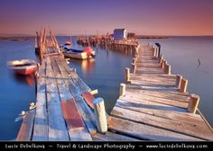 Photo Portugal - Alcácer do Sal - Palafito Pier of Carrasqueira by Lucie Debelkova -  Travel Photography - www.luciedebelkova.com on 500px