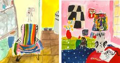 Traveling vicariously with painter Bella Foster