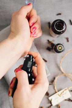Vanilla Clove DIY Body Oil Spray