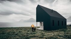 A Vancouver-based startup's conceptual design for flat-packed recreational cabins would allow users to build holiday homes for themselves