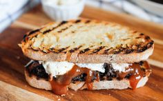 <p>As far as comfort foods go, loaded sandwiches are among the best of the best. In this take on a Southern classic, shredded, meaty mushrooms are coated in barbecue sauce and sandwiched between two crusty slices of bread with crunchy coleslaw.</p>