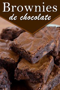 receta browni de chocolate