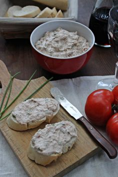 Crema de atún y mascarpone para untar :: Tuňáková pomazánka s mascarpone