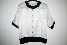 Classy Black and White Shirt