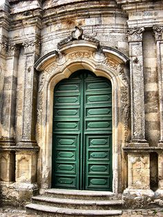 Petralia Soprana Baroque's Door  By Michele Naro