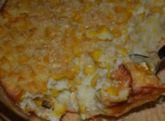 Old Fashioned Corn Pudding - Recipes - Side Dishes - Corn Pudding Recipes, Corn Recipes, Side Dish Recipes, Vegetable Recipes, Pudding Corn, Cream Corn Pudding Recipe, Recipies, Fruit Recipes, Salad Recipes