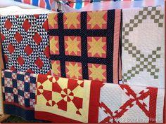 Antique Quilts, SIsters Oregon 2012