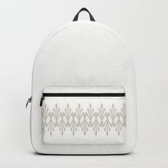 """Designing our premium Backpacks is a meticulous process, as Artists have to lay out their artwork on each component. One size fits all men and women, with heavy-duty construction that's able to handle the heavy lifting for all your school and travel needs.     - Standard unisex size: 17.75"""" (H) x 12.25"""" (W) x 5.75"""" (D)   - Crafted with durable spun poly fabric for high print quality   - Interior pocket fits up to 15"""" laptop   - Padded nylon back... Backpacks For Sale, D Craft, Coffee Latte, Designer Backpacks, One Size Fits All, Fashion Backpack, Laptop, Handle, Construction"""