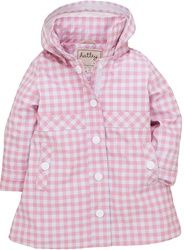 Stylin in the rain. PVC-free Hatley roancoat. Size 4 Y-12Y now available.