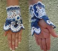 Bildresultat för crochet cuff bracelet pattern