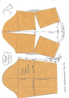 Sensational Tips Sewing Pattern Ideas. Brilliantly Tips Sewing Pattern Ideas. Sewing Dress, Sewing Sleeves, Dress Sewing Patterns, Love Sewing, Sewing Clothes, Clothing Patterns, Sewing Lessons, Sewing Hacks, Sewing Tutorials