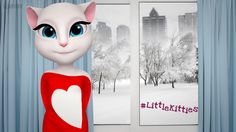 Hi #LittleKitties! Let's spread love all over the world! Starting today, do something nice every day - not just on Valentine's Day <3 xo, Talking Angela #talkingangela #mytalkingangela #LittleKitties #valentines #ValentinesDay