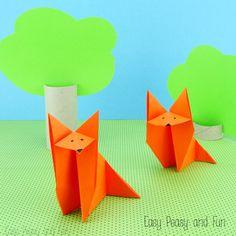 Origami For Kids Fox Tutorial