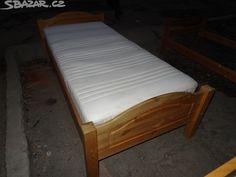 prodam drevenou postel 214x100v54 - obrázek číslo 1 Decor, Furniture, Mattress, Home Decor, Bed