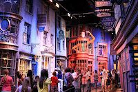 Diagon Alley. Writer's Wanderings: Harry Potter - The Movie Workshops