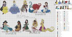 Вишивка для дітей: схеми з мультиків   Ідеї декору