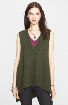 Free People Slouchy Sleeveless Pullover available at #Nordstrom
