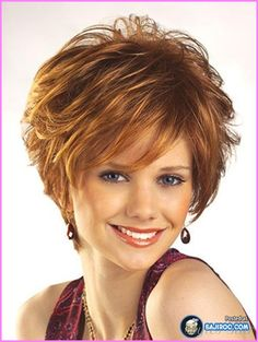 awesome Short haircut for fine hair round face