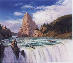 BOROMIR'S FUNERAL BY TED NASMITH