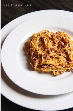 Ragu with Fresh Tajarin Pasta