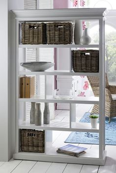 Possibly a shelf as a room divider between office and dining