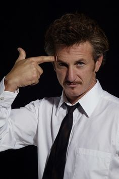The late blooming of Sean Penn. Cover: Portrait by Gottfried Helnwein Sean Penn, Gottfried Helnwein, Robin Wright, Cinema, Stupid People, Big People, Charlize Theron, American Actors, Dumb And Dumber