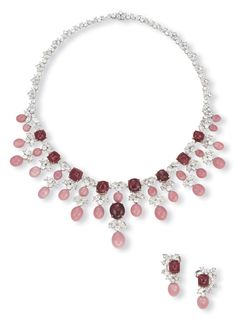 Conch Pearl and Spinel Suite Christie's