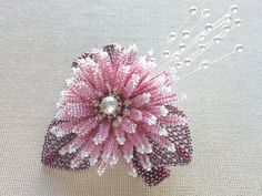 Pink Fusafusa beads with corsage Valletta