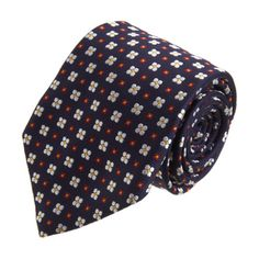 Barneys New York Florette Neat Print Tie Sale up to 70% off at Barneyswarehouse.com