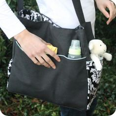 Download Does It All Diaper Bag Sewing Pattern | Featured Products | YouCanMakeThis.com