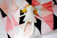 lena's first doll - see kate sew