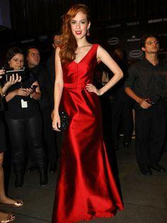 Sophia Abrahão no Baile de Gala da Vogue BR (20/02/14)
