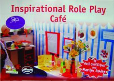 Early Vision - The Cafe Role Play Early Years Resources -