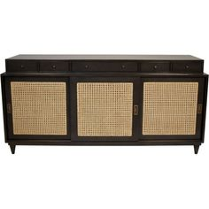 "Hermosa Sideboard ItemID #: GCON204PQty Available: 8Available in 2-6 Weeks: 0Availability is subject to change until order is confirmedDimensions: 72"" X 22"" X 35.5"" HWeight (lbs): 140Material: MahoganyFinish: PaleFabric: Caning"