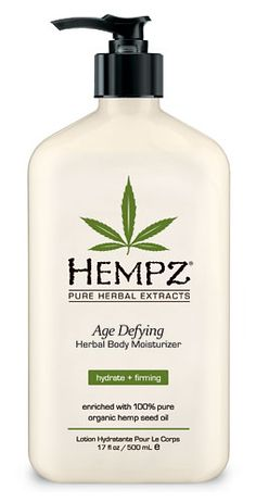 Hempz Age Defying Herbal Body Moisturizer- some of the best lotion on the market!