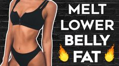 Lower Belly Fat Workout: Get Rid of Lower Belly Pooch (Stomach Flattener)