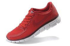 Fashion Nike Free 5.0 V4 Mens Running Shoe Sport Red For Summer.