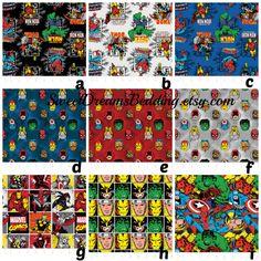 Custom Crib Bedding You Design   in  Marvel 1 by SweetDreamsBedding on Etsy