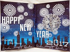 Ann的手作花園 Ann Chuang crafts: HAPPY NEW YEAR Art Journal Page