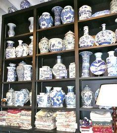 John Rosselli ginger jars and vases