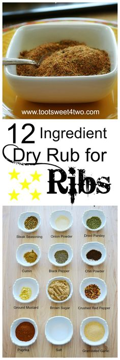 Dry rub for ribs is an easy way to add another layer of flavor to your summer grilling. And why run out and buy a special dry rub mix at the grocery store when you probably already have all the ingredients in your pantry and spice cabinet? Lots of spices and brown sugar join forces to make a sweet and savory homemade DIY dry rub for port ribs that takes only minutes. With just 12 ingredients from your pantry, this easy, garlic infused dry rub recipe is sure to become your favorite BBQ…