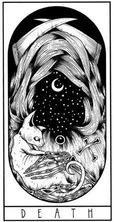 20 Trendy Ideas For Skin Photography Death Tarot Death, Tarot Card Tattoo, Tarot Major Arcana, Grunge Art, Animation, Art Inspo, Amazing Art, Art Drawings, Art Prints
