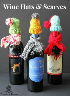 Creative Packaging for wine bottles