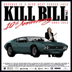 KILL BILL Vol.2 - 10th ANNIVERSARY - Tribute  by Federico Mancosu, via Behance