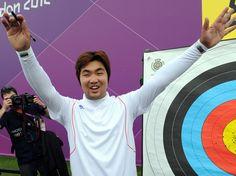 Aux JO, le record du monde du tir à l'arc battu par... un aveugle - Rue89