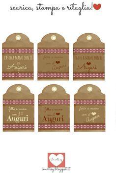 Etichette da applicare ai pacchetti scaricabili gratuitamente