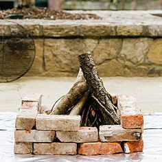 Learn how to build your own firepit