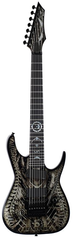 Dean USA Rusty Cooley RC7 Xenocide Signature Electric Guitar