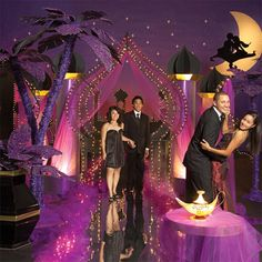 Magic Carpet Ride Complete Theme - Enter your Arabian paradise with this stunning Magic Carpet Ride theme. Arabian Nights Prom, Arabian Nights Theme, Arabian Party, Arabian Theme, Moroccan Party, Moroccan Theme, Dance Themes, Prom Themes, Wedding Night
